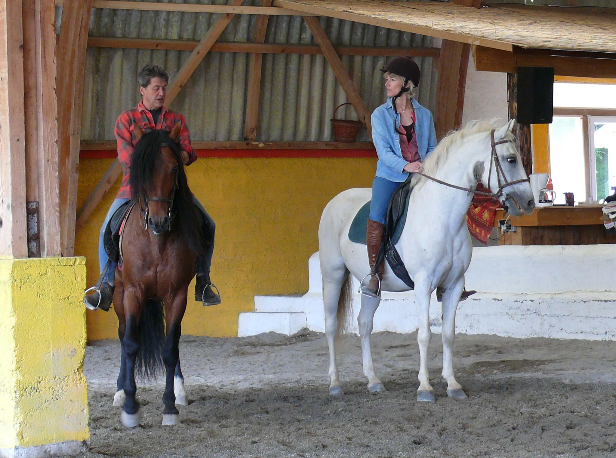 spadassins à cheval